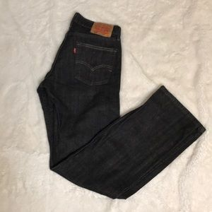 Levi 514 Slim straight black jeans 32 x 34